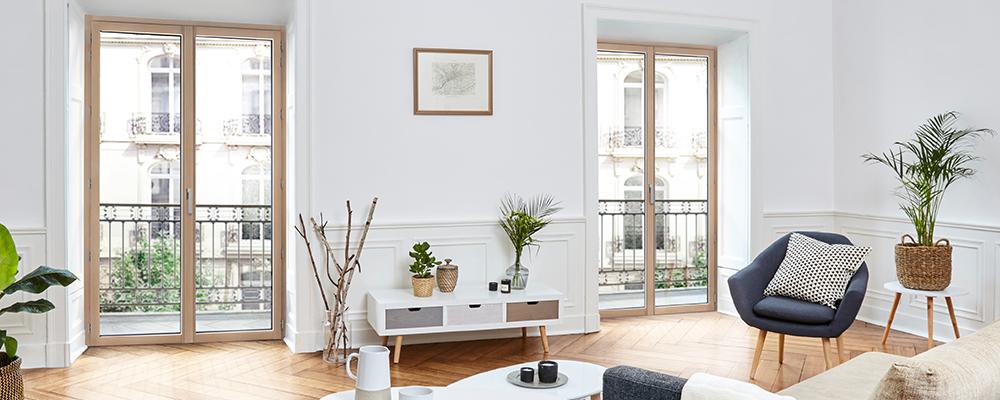 Fenêtres mixtes bois
