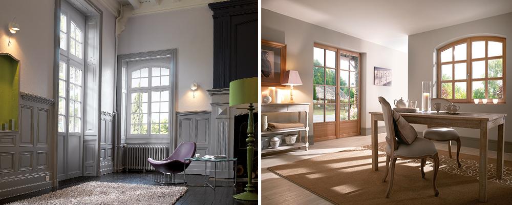 Fenêtres PVC ou bois