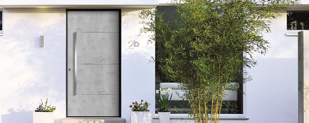 Porte design aluminium